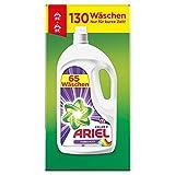 Ariel Waschmittel Flüssig, Flüssigwaschmittel, Color Waschmittel, Farbschutz, 130 Waschladungen (2 x 3.575 L)