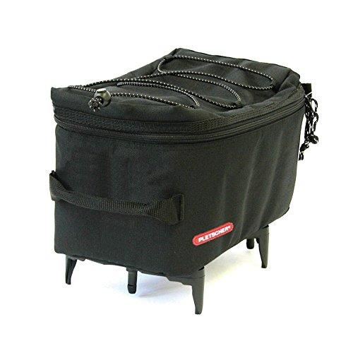 Pletscher Gepäckträgertasche-2179842100 Gepäckträgertasche, schwarz, 50 x 30 x 20 cm