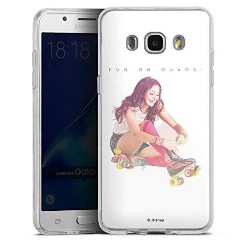 DeinDesign Silikon Hülle kompatibel mit Samsung Galaxy J5 (2016) Case transparent Handyhülle Soy Luna Offizielles Lizenzprodukt Disney