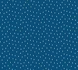 Figo Fabrics Simple Pleasure Stoffe – Regentropfen blau