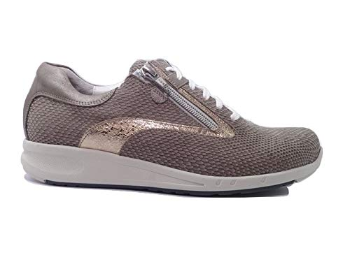 Durea Go Sneakers 6240 Wijdte H Taupe Champagne Brons