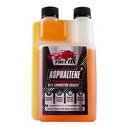 Fuel Ox Asphaltene (6 Pack): Asphaltene Inhibitor & Combustion Catalyst - Diesel Engine Treatment- Removes Asphaltenes - Increases Mileage & Decreases Regens - 16oz Treats 1250 Gallons