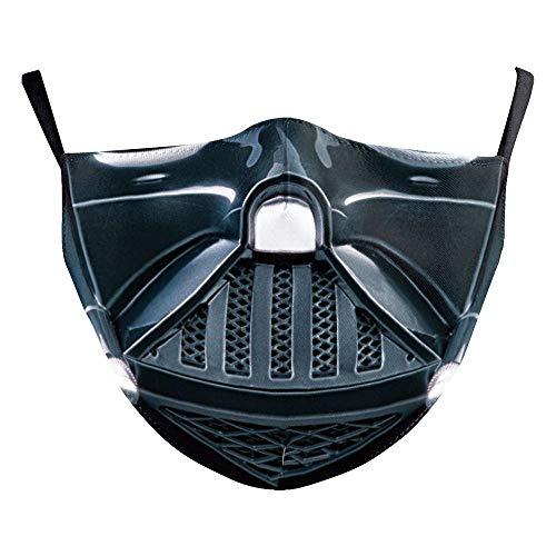 XWYWP - Máscara de Halloween de Star Wars Darth Vader para adultos,...