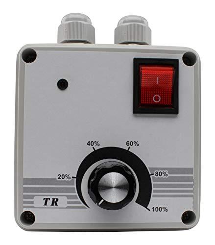 Luftheld - Drehzahlregler Drehzahlsteller - bis max. 600 Watt