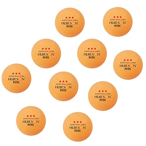 Great Deal! GODET 2PCs/10PCs/30PCs Ping Pong Ball 3 Star, Plastic Table Tennis Pingpong Training Spo...