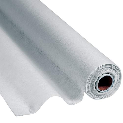 Silver Gossamer Roll 100 FT X 3 FT Wedding Aisle Decoration Table Cover by FX