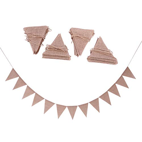 LSAR Triangle Bunting, dekorative Flagge, DIY Hochzeitsflagge, für Dekorationsparty