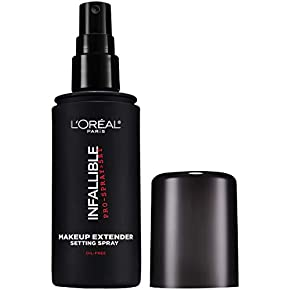 L'Oreal Paris Makeup Infallible Pro-Spray & Set Makeup Extender Setting Spray, 3.4 fl. Oz(100 ml).
