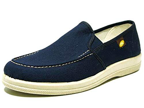 Zapato adeportivado Tipo Mocasin Mujer Cerrado de la Marca DOCTOR CUTILLAS en Piel Color Beige 43624-375