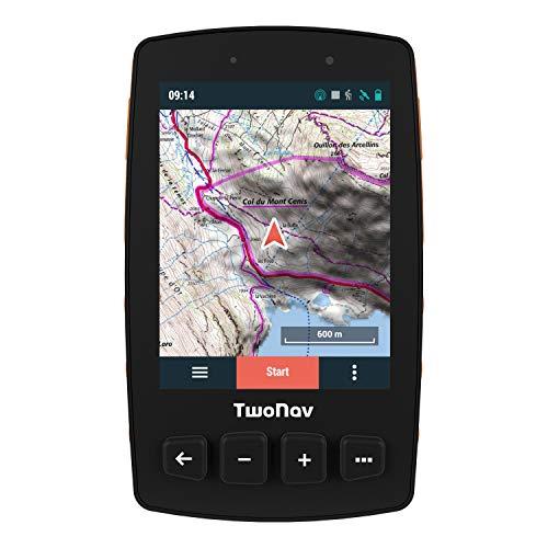 """TwoNav - Trail 2 GPS para Senderismo con Pantalla de 3.7"""" Gorilla Glas"""
