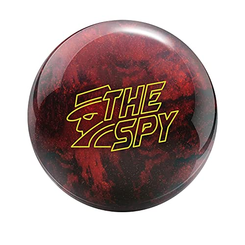 Radical Bowling Products The Spy Bowling Ball - Red/Black 16