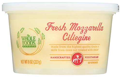Whole Foods Market, Fresh Mozarella Ciliegine, 8 oz