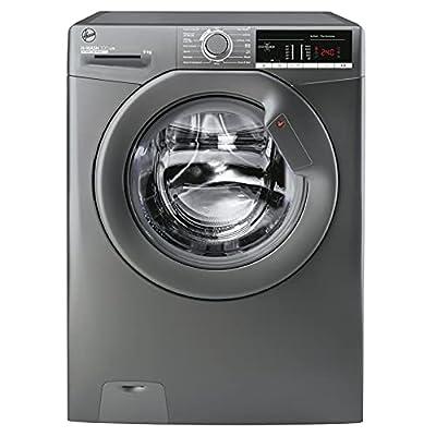 Hoover H-Wash 300 H3W49TGGE 9KG Load 1400RPM Graphite Freestanding Washing Machine
