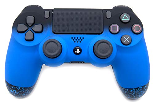 Blue PlayStation 4 Pro Controller with Remapping Paddles – PS4 Pro Slim DualShock 4 PlayStation 4 Wireless Controller