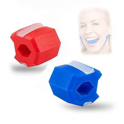 KUASD Jawline Exercise Jawlineme Exerciser, Jawzrsize Facial Toner Ejercitador de Mandíbula y Equipo de Tonificación de Cuello para la Mandíbula Facial Delgada