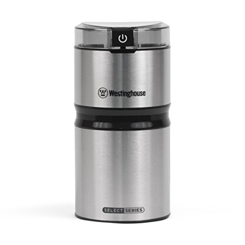 Westinghouse WCG21SSA Select Series Stainless Steel Electric Coffee and Spice Grinder - Amazon Exclusive