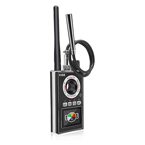 Falliback Anti Spionage Detektor, Versteckter Kamera Fehlerdetektor, Kamera Finder RF Signaldetektor Mit AI Funktion, Für GSM Ortungsgerät GPS Radar Radiofrequenzdetektor