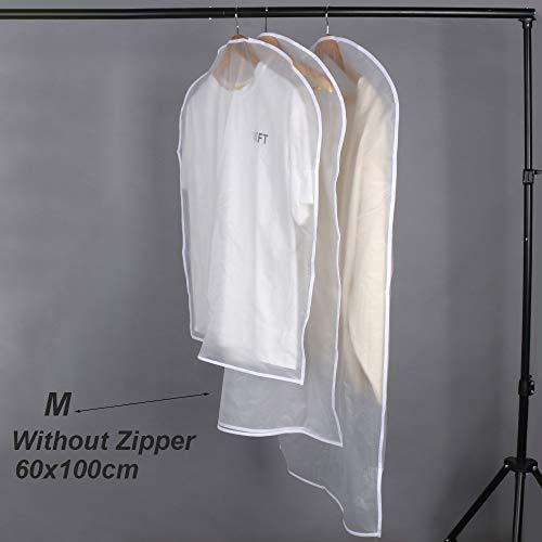 nhnhn stofdichte hoezen opslag zakken koffer rits kleding beschermer garderobe jurk huis levende kleding Cover