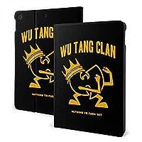 Wu Tang Clan ipad 10.2 ケース ipad 第七世代ケース 2019秋発売 高級感PUレザー製 スリープ/ウェイク 角度調節可能なスタンド 三つ折り 全面保護 スタンド スマートケース カバー 手帳型 薄型 耐久性 かわいい