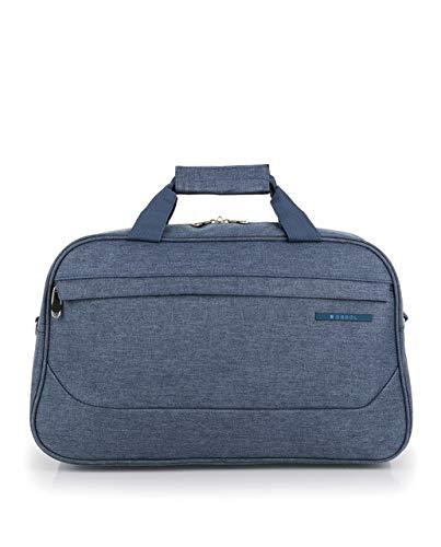 Gabol - Board | Bolso de Viaje Grande de Tela de 48 x 30 x 23 cm con Capacidad para 24 L de Color Azul