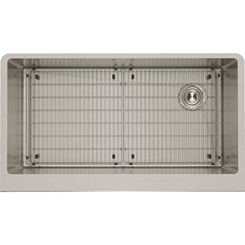 Elkay Crosstown Farmhouse Apron Front Stainless Steel 36 in. Double Bowl Kitchen Sink Review