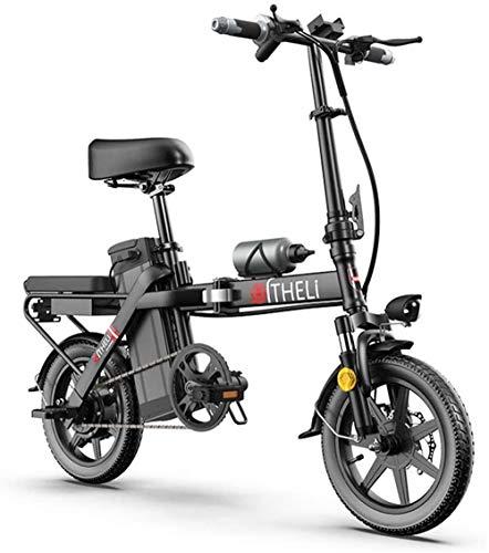 Bicicletas Eléctricas, Bicicleta eléctrica plegable E-bici for adultos ciclo, bicis Confort 350W...