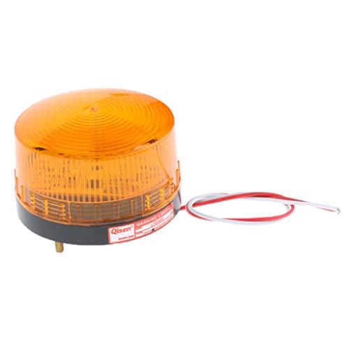 Luz De Advertencia De Luz Estroboscópica LED De 24 V Señal De Señalización De Flash De Baliza Roja - 7