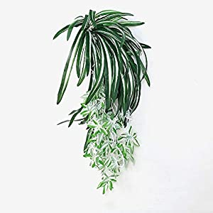 C.W.USJ Artificial Plants Artificial Plant Cypress Potted Green Plant Hibiscus Fake Simulation Grass Living Room Home Decoration Artificial Flower