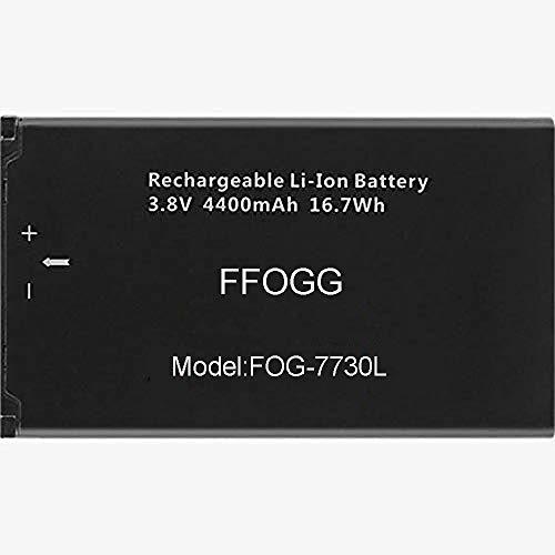 FFOGG New 4400 mAh Replacement Battery for Novatel Jetpack MiFi 7730L Mobile Hotspot - P/N: 40123117