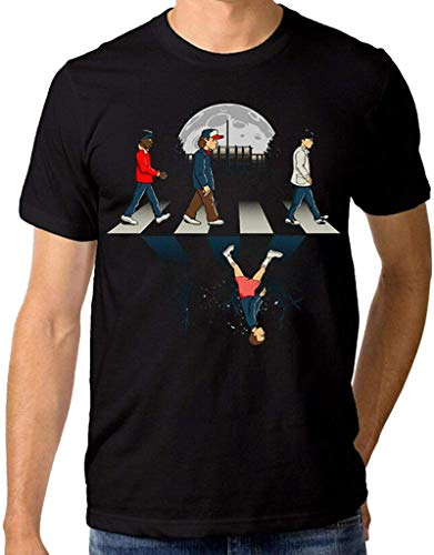 BGTEEVER Stranger Things Abbey Road T-Shirt, Men's Women's,O