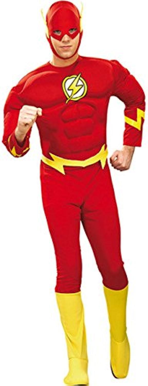 The Flash Superheld Comic Kostüm rot gelb XL