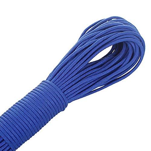 ZSM 7 cordón de núcleo Correas de Amarre Accesorios Tiendas de campaña del pie Color de la Cuerda Cuerda Cuerda de Escalada 31m12 YMIK (Color : K)