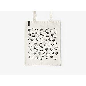 Baumwolltasche – VULVARINES – typealive – Stofftasche mit langen Henkeln, lustigem Motiv, perfekt zum Einkaufen oder zum…
