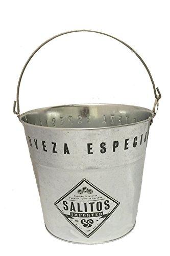 Salitos Eiskübel aus Metall mit Henkel 1 Stück
