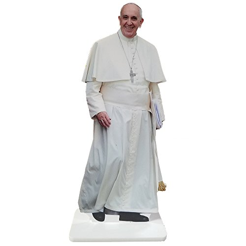 Wet Paint Printing + Design MH48061-12 Pope Francis Standing 12 INCH Desktop Legends Acrylic Statuette