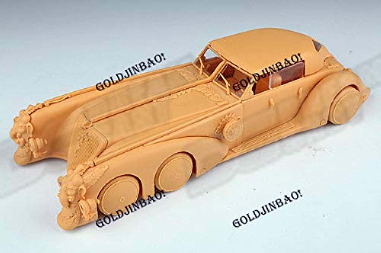 FidgetKute 1 24 NEMO'S CAR Unpainted Resin Kits Model Unassembled Collection DIY