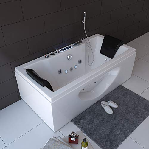 Home Deluxe Whirlpool Laguna M, inkl. vielen Extras (weiß) - 4