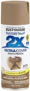 Rust-Oleum 249070 Painter's Touch 2X Ultra Cover, 12-Ounce, Satin Nutmeg