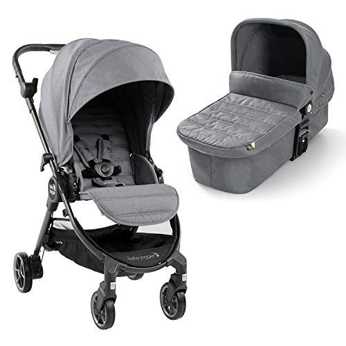 Baby Jogger 2044257 - Passeggino e navicella 2 in 1 Baby Jogger City Tour LUX, leggero, pieghevole e portatile, colore: Grigio
