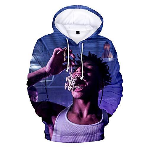 WAWNI Hip hop NLE Choppa 3D Hoodie Sweatshirts Men Women Pullover (Medium,3D 3)