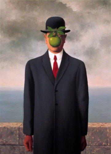 Rare Posters Le fils de l?Homme (Son of Man) (Mini) von Rene Magritte Kunstdruck