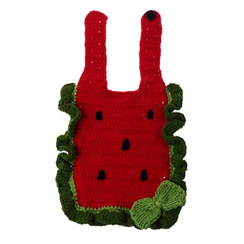 Lyguy - Baberos para fotografía de bebé, Unisex, Crochet recién Nacido, Accesorios para...