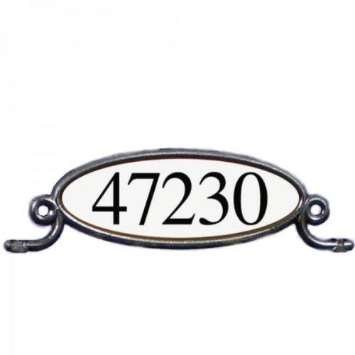 Mailbox Namensschild - Adress-Schild für Mailboxen