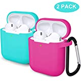 Laffav AirPods 2 & 1 Case for Women Men (Front LED Visible) Soft Silicone...