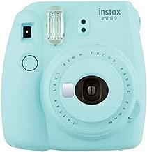 Fujifilm Instax Mini 9 Instant Camera - Ice Blue, 2.7x4.7x4.6 (Instax Mini 9 - Ice Blue)