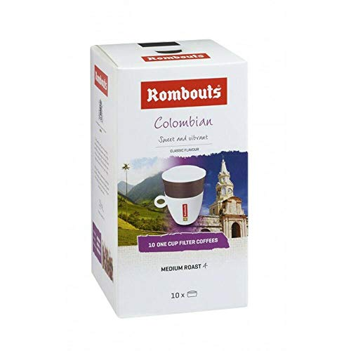 Rombouts Colombian One Cup Coffee Filters 10's (4 Boxes)