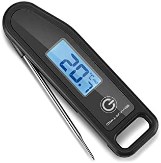 SMARTRO Meat Thermometer Instant Read Cooking Food Thermometer Digital Thermometer for Candy, BBQ, Kitchen, Grilling, Smoker