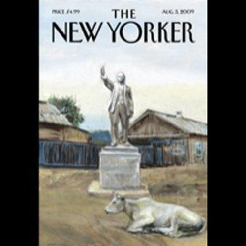 The New Yorker, August 3, 2009 (Ian Frazier, Kelefa Sanneh, Hendrik Hertzberg) cover art