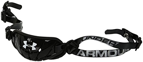 Under Armour mens Gameday Armour Chin Strap Black (001)/White One Size Fits All