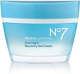 No7 Hydraluminous Overnight Recovery Gel Cream 50ml (